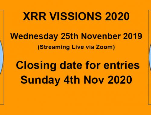 XRR VISIONS 2020