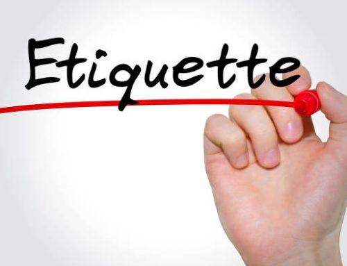 Club Etiquette